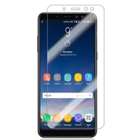 محافظ LCD طلقی Nano Glass گلس نانو Screen Protector.Guard Samsung Galaxy A8 Plus 2018