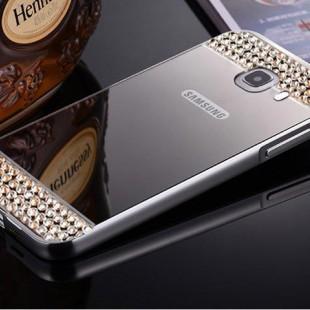 قاب محکم Diamond Mirror Case for Samsung Galaxy J5 Prime قاب آینه ای نگین دار