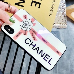قاب پشت گلس چنل Chanel Back Glass Case iPhone 6
