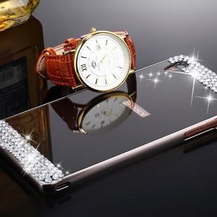 قاب محکم Diamond Mirror Case for Sony Xperia M4 قاب آینه ای نگین دار