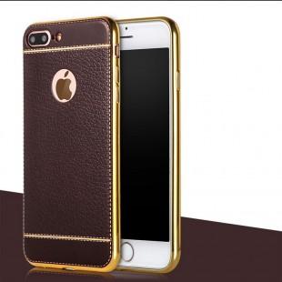 قاب ژله ای Dot Leather Case Apple iPhone 7 Plus
