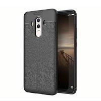قاب ژله ای طرح چرم Auto Focus Case Huawei Mate 10 Pro