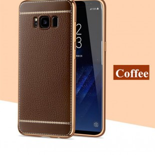 قاب ژله ای Dot Leather Case Samsung Galaxy S8 Plus