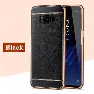 قاب ژله ای Dot Leather Case Samsung Galaxy S8 Plus