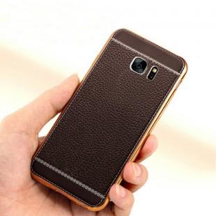قاب ژله ای Dot Leather Case Samsung Galaxy S7