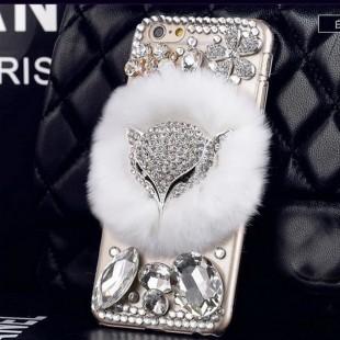 قاب شیشه ای خزدار Fox Glass Case Apple iPhone 6