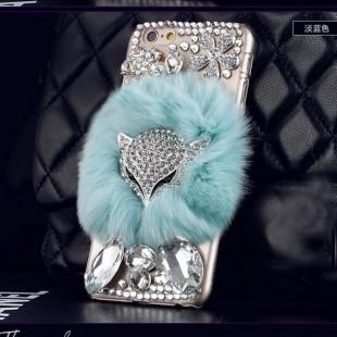 قاب شیشه ای خزدار طرح گرگ Fox Glass Case Apple iPhone 7