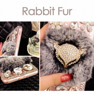 قاب شیشه ای خزدار Fox Glass Case Apple iPhone 7 Plus