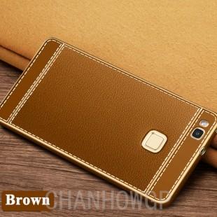 قاب ژله ای Dot Leather Case Huawei P8 Lite 2017