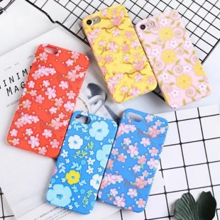 قاب ژله ای Flower pattern Case Apple iPhone 6