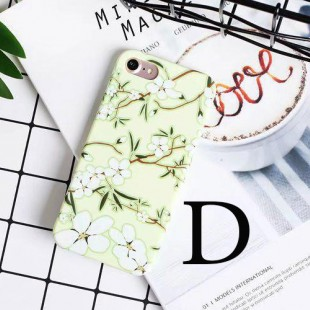 قاب ژله ای Flower pattern Case Apple iPhone 6