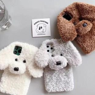قاب خزدار سگ مهربون Dog Fur Case Apple iPhone 11