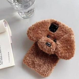قاب خزدار سگ مهربون Dog Fur Case Apple iPhone 11 Pro