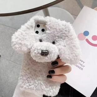 قاب خزدار سگ مهربون Dog Fur Case Apple iPhone 11 Pro Max