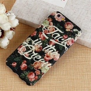 قاب طلقی Flower pattern Case Apple iPhone 7