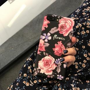 قاب طلقی Flower pattern Case Apple iPhone 7