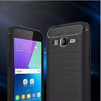 قاب ژله ای طرح چرم Auto Focus Case Samsung Galaxy J1 Mini