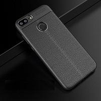 قاب ژله ای طرح چرم Auto Focus Case Huawei Honor 9 Lite