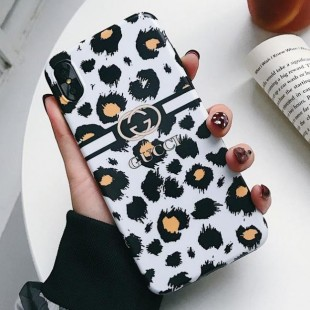 قاب ژله ای پلنگی Leopard White TPU Case iPhone 6