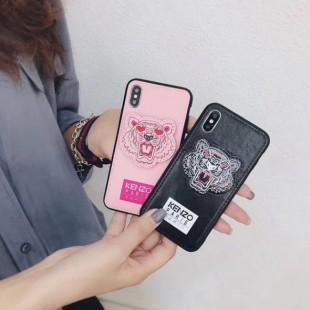 قاب چرمی طرح ببر Tiger Leather Case iPhone 7 Plus