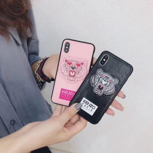 قاب چرمی طرح ببر Tiger Leather Case iPhone Xr