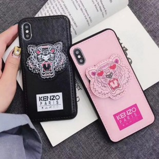قاب چرمی طرح ببر Tiger Leather Case iPhone Xs Max
