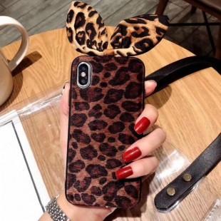 قاب پلنگی گوش دار Leopard Case Apple iPhone 7 Plus