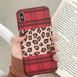 قاب ژله ای پلنگی Leopard Case Apple iPhone Xs Max