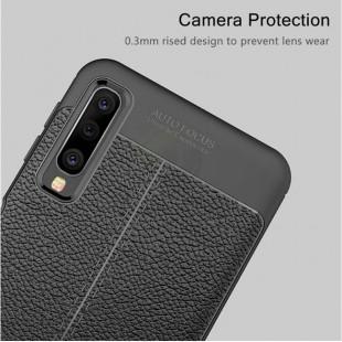 قاب ژله ای طرح چرم Auto Focus Case Samsung Galaxy A40