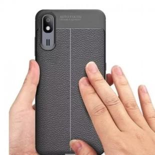 قاب ژله ای طرح چرم Auto Focus Case Samsung Galaxy A2 Core