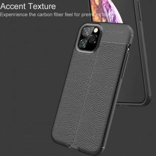 قاب ژله ای طرح چرم آیفون Auto Focus Case Apple iPhone 11 Pro Max