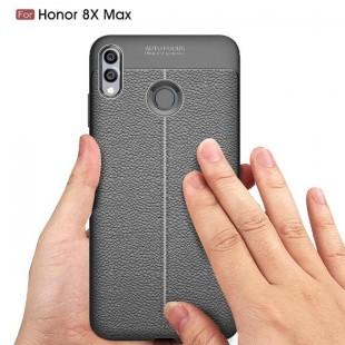 قاب ژله ای طرح چرم هواوی Auto Focus Case Huawei Honor 8X Max