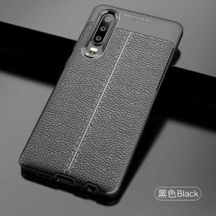 قاب ژله ای طرح چرم هواوی Auto Focus Case Huawei P30 Lite