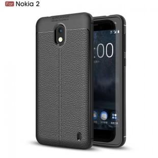قاب ژله ای طرح چرم نوکیا Auto Focus Case Nokia 2.2