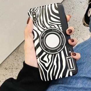 قاب ژله ای پلنگی Leopard White TPU Case iPhone 6