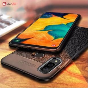قاب ژله ای طرح چرم Auto Focus Case Samsung Galaxy A20s