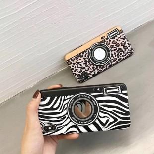 قاب ژله ای پلنگی Leopard White TPU Case iPhone 7