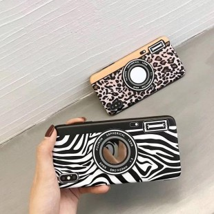 قاب ژله ای پلنگی Leopard White TPU Case iPhone 7 Plus