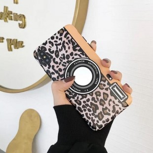 قاب ژله ای پلنگی Leopard White TPU Case iPhone X