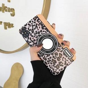 قاب ژله ای پلنگی Leopard White TPU Case iPhone X
