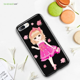 قاب ژله ای Shengo Baby Girl Case Apple iPhone 7 Plus
