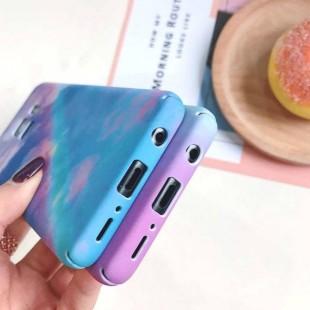 قاب طرح رنگین کمان Rainbow Case Samsung Galaxy S7