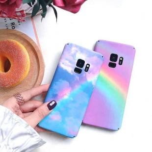 قاب طرح رنگین کمان Rainbow Case Samsung Galaxy Note 9