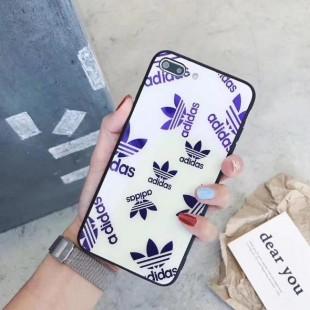قاب پشت گلس آدیداس Adidas Back Glass Case iPhone Xr