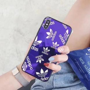 قاب پشت گلس آدیداس Adidas Back Glass Case iPhone Xs Max
