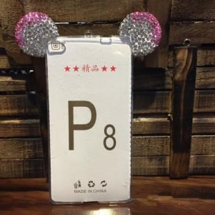 قاب ژله ای Diamond Mickey Case for Huawei P8