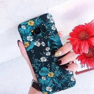 قاب طرح گل 360 درجه Stripe Judy Case Galaxy S8