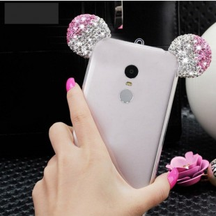 قاب ژله ای Diamond Mickey Luxury 3d Case for Xiaomi Note 2 Pro