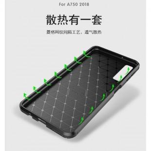 قاب ژله ای طرح کربن Autofocus Carbon Case Galaxy A7 2018