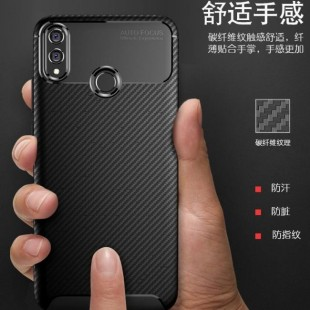 قاب ژله ای طرح کربن Autofocus Carbon Case Huawei Honor 8X